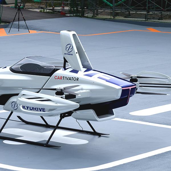 SkyDrive probó su coche volador