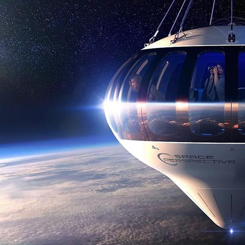 PriestmanGoode diseña una nueva nave para realizar viajes a la estratósfera