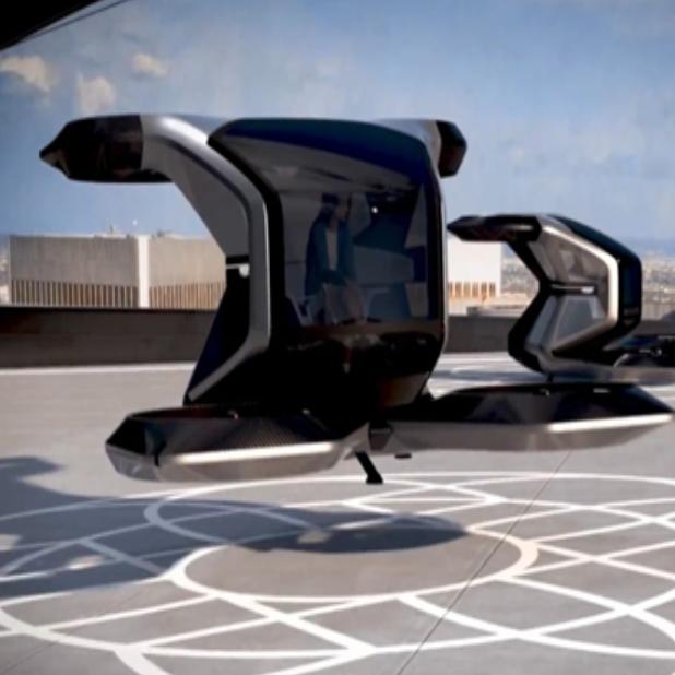 General Motors presenta prototipo de su vehículo volador