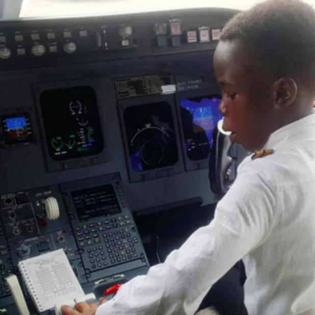 Graham Shema, el niño prodigio de la Aeronáutica