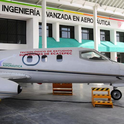Nuevo centro de formación de ingeniería avanzada en aeronáutica en Ecatepec