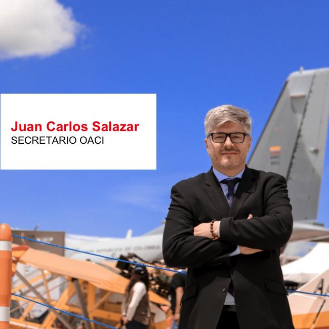 Juan Carlos Salazar es el nuevo Secretario de la OACI