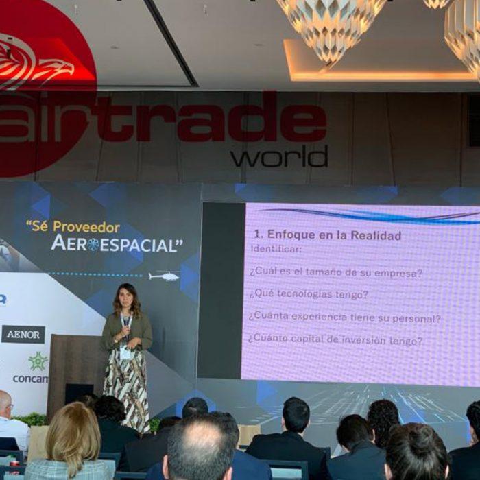 Evento: Se Proveedor Aeroespacial ¨FEMIA¨Lugar: Ciudad de MéxicoFecha: Enero 2020