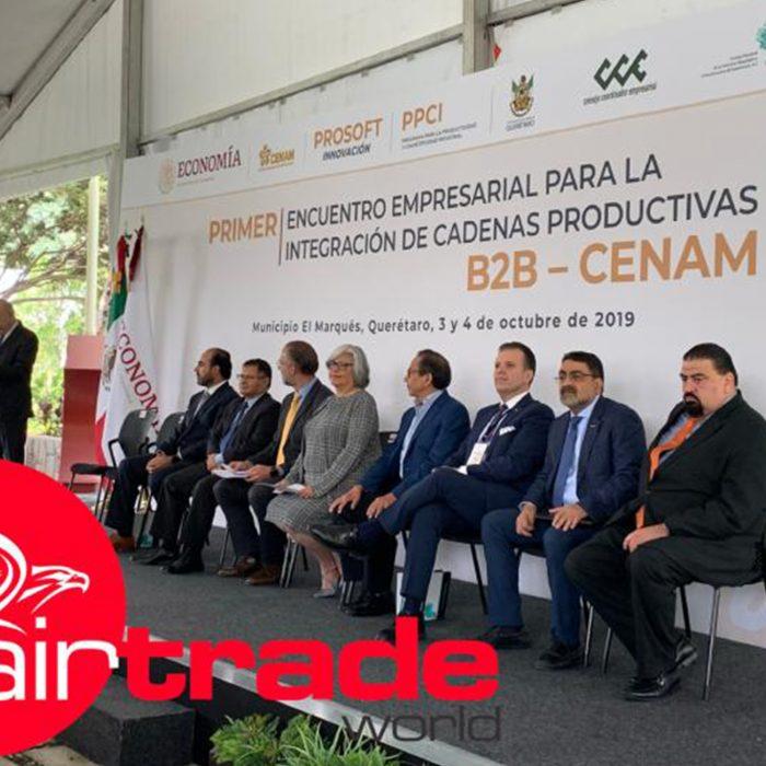 Evento: Encuentro Empresarial de cadenas productivasLugar: QuerétaroFecha: Octubre del 2019